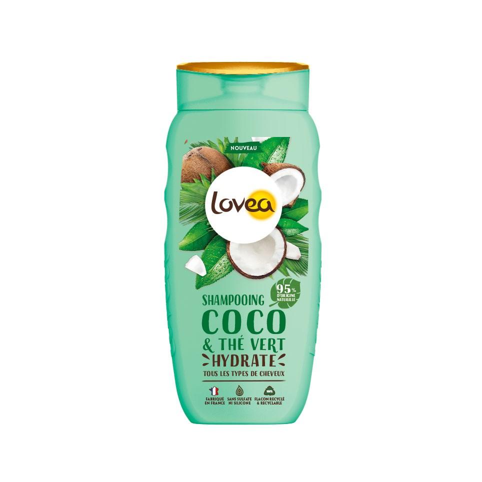 Lovea綠茶椰子洗髮乳 250ml