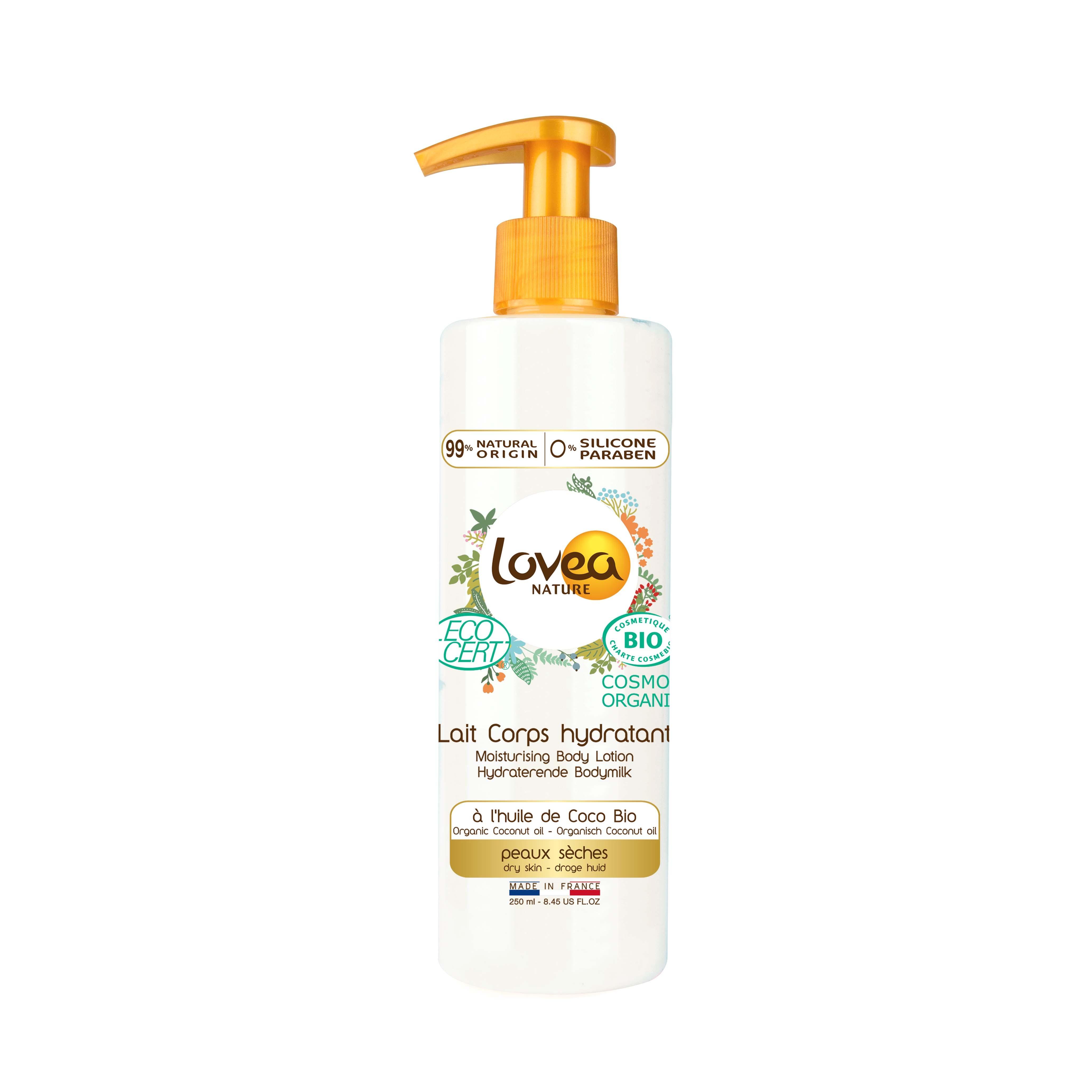 Lovea椰子BiO保濕身體乳 250ml