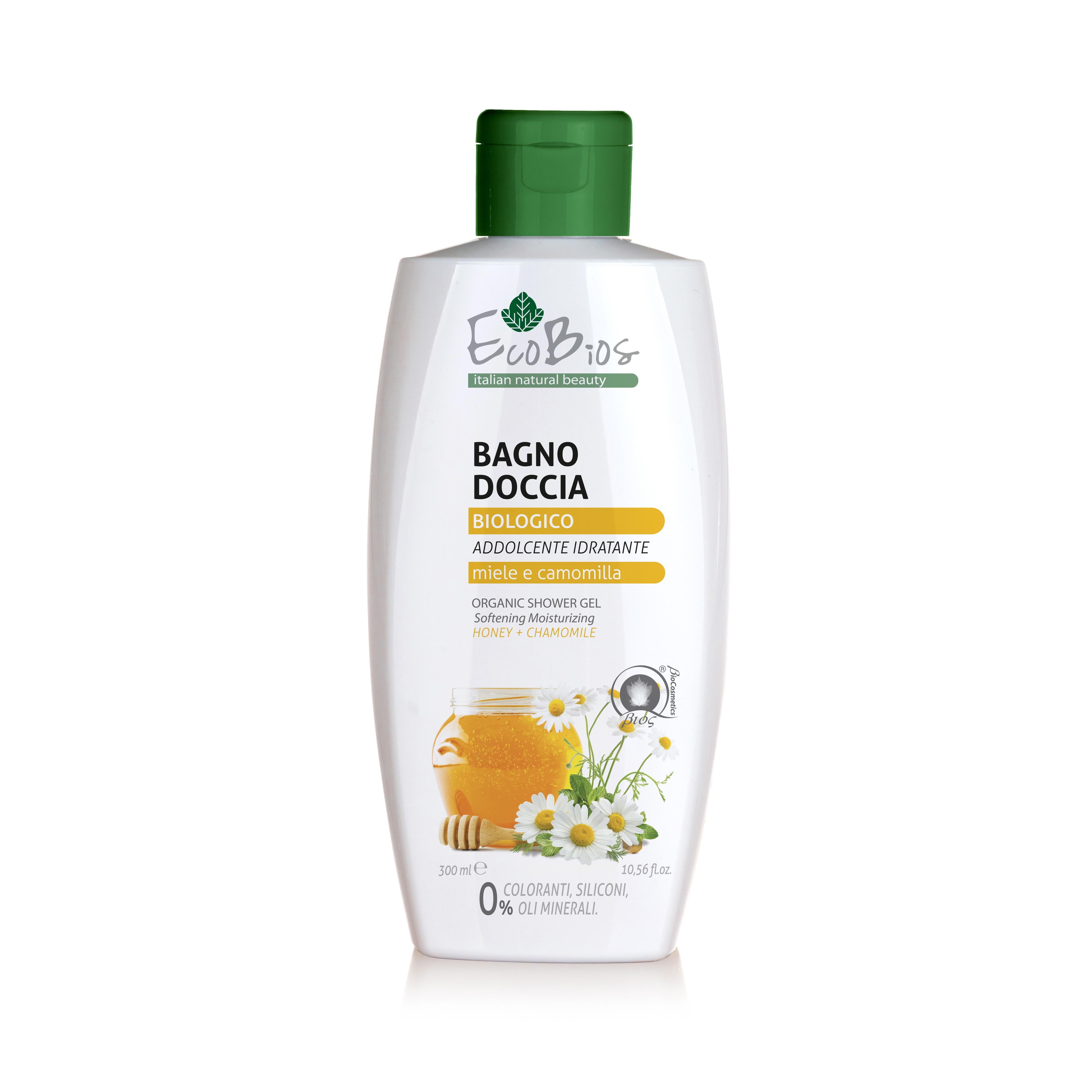 EcoBiOs洋甘菊蜂蜜沐浴露 300ml