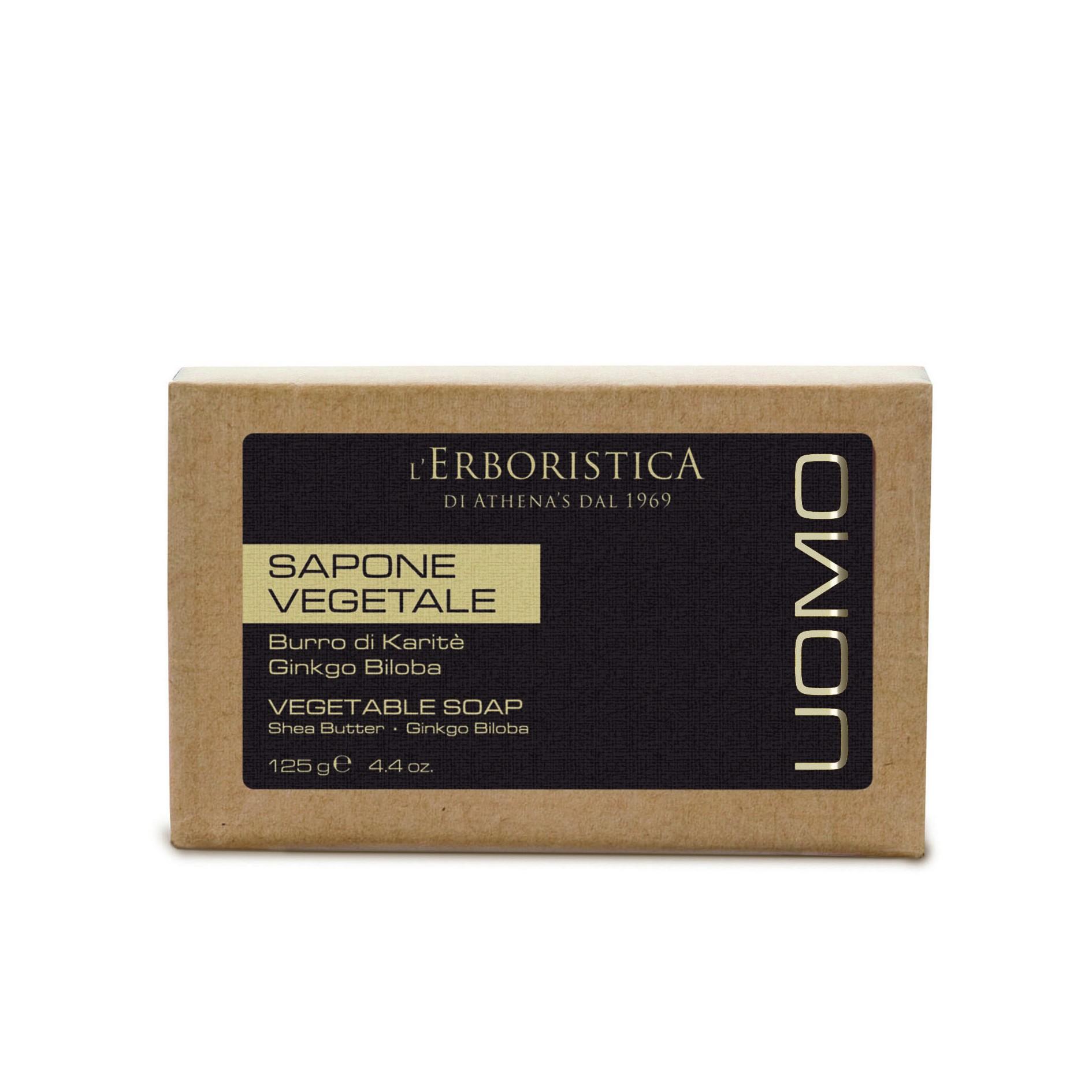 UOMO乳油木銀杏潤膚皂 125g