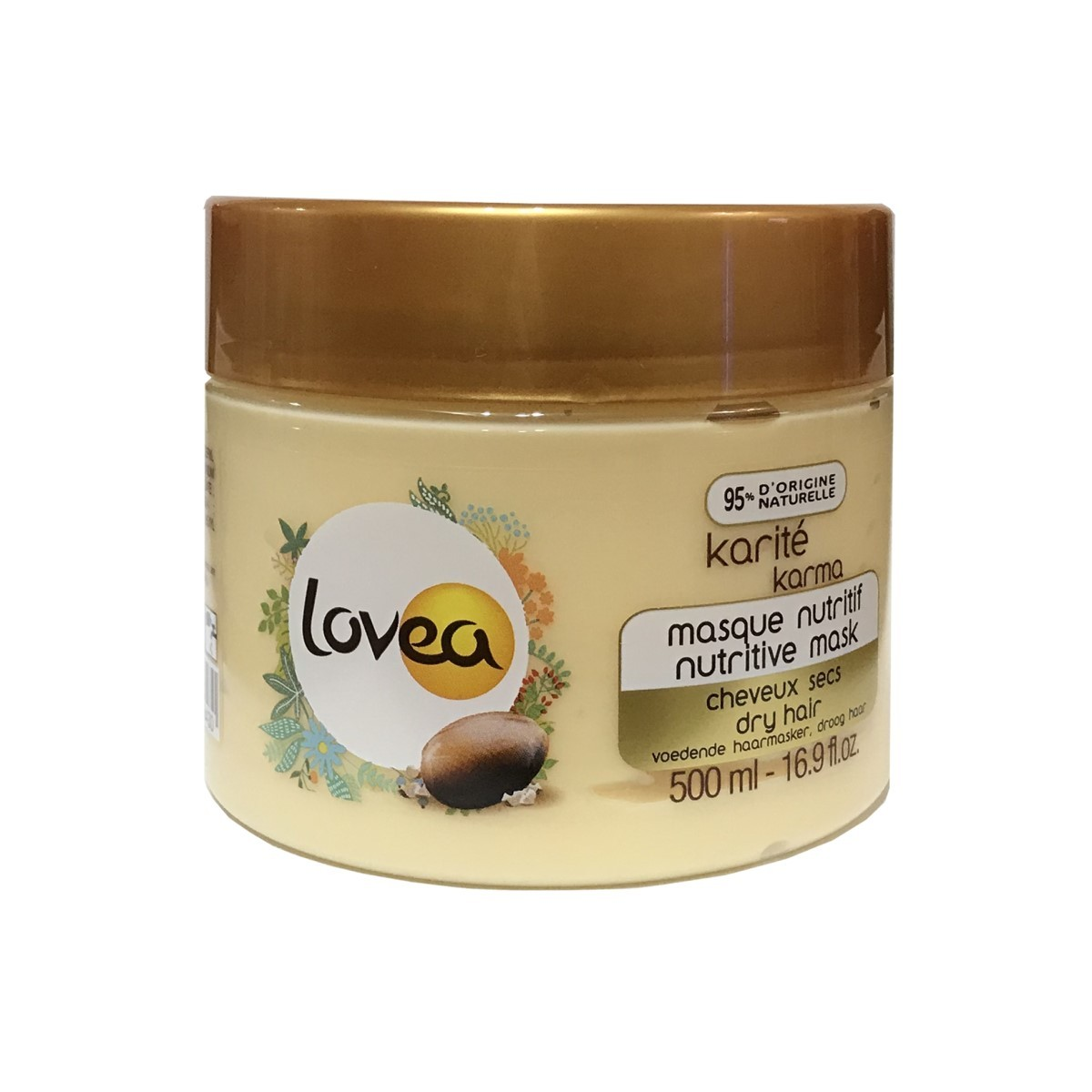 Lovea Nature 乳油木滋養護髮膜(大) 500ml