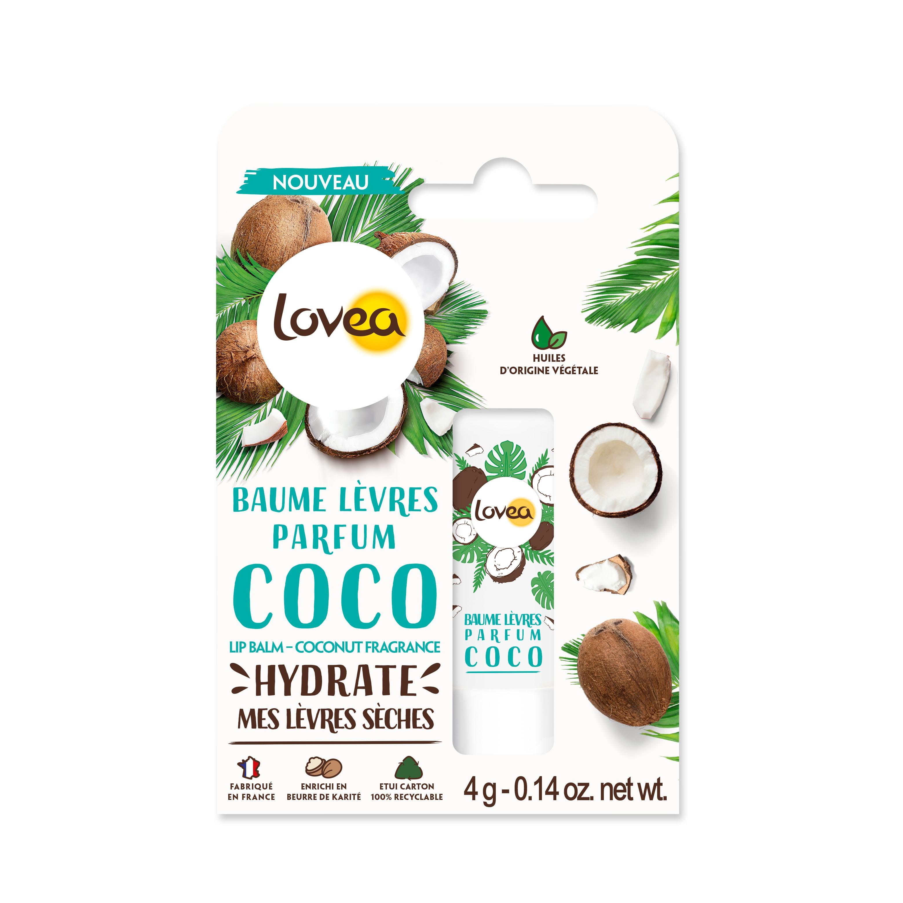 Lovea乳油木椰子香護唇膏 4g