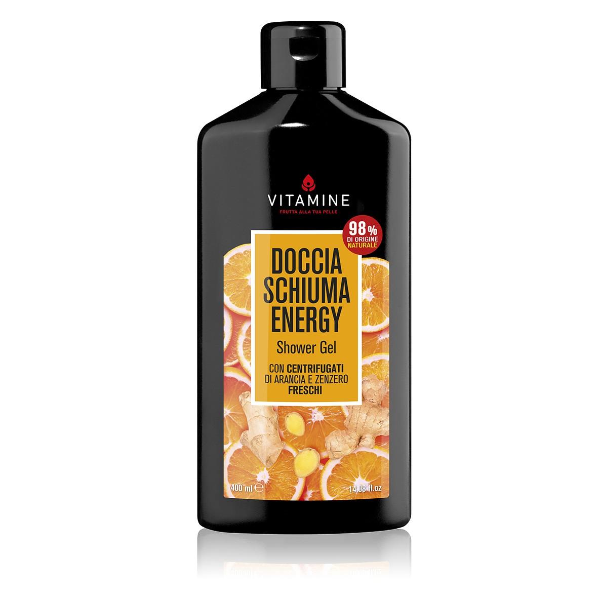 Vitamine活力橙薑沐浴露 400ml