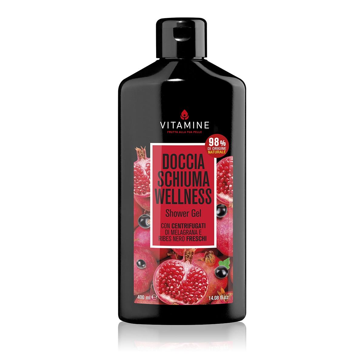 Vitamine健康紅石榴黑醋栗沐浴露 400ml